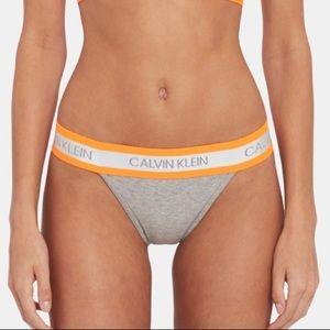 Limited Edition Calvin Klein Neon Tanga Panty